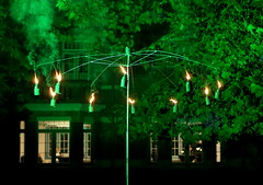 "Finissage ""Weg van Kunst"", Roosendael (Sint-Katelijne-Waver) Tags: roosendael domeinroosendael landhuis tentoonstelling plataan lights"