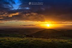 Samhain sunset from Sliabh na Calliagh (mythicalireland) Tags: loughcrew samhain sunset november landscape cairn cairns megalithic neolithic alignment clouds sky colours meath ireland
