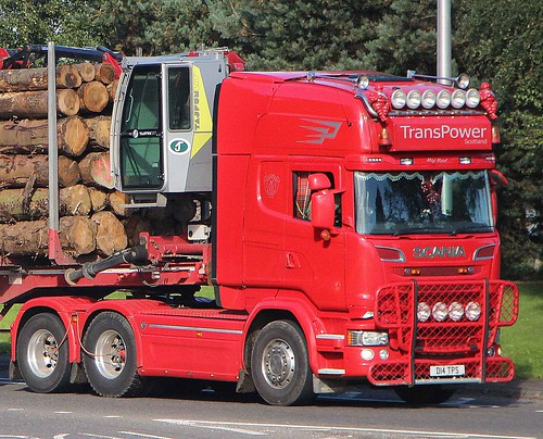 SCANIA - TRANSPOWER Scotland