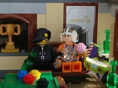 High Landing (captain_joe) Tags: thehighlander toy spielzeug 365toyproject lego minifigure minifig modularhouse