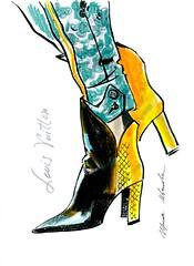 img940 (Irina V. Ivanova) Tags: 365sketches fashionillustration sketching fashion louisvuitton