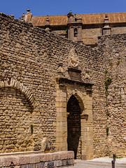 Spain - Malaga - Ronda (Marcial Bernabeu) Tags: marcial bernabeu bernabu spain espaa andalucia andaluca andalusia malaga mlaga ronda wall walls muralla murallas puerta door