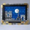 Framed Paris (JETfri) Tags: lego microscale paris eiffeltower notredame arcdetriomphe pyramidedulouvre