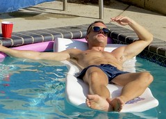 IMG_0081 (danimaniacs) Tags: party shirtless man guy hot sexy bathingsuit trunks armpit mansolo hunk