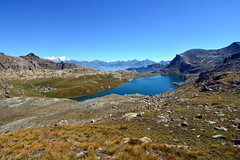 IL Gran Lac (supersky77) Tags: avic montavic parcnatureldumontavic parconaturaledelmontavic aosta valledaosta alpi alps alpes alpen monterosa granlac lac lago lake blue blu