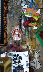 HH-Wheatpaste 3081 (cmdpirx) Tags: hamburg germany reclaim your city urban street art streetart artist kuenstler graffiti aerosol spray can paint piece painting drawing colour color farbe spraydose dose marker stift kreide chalk stencil schablone wall wand nikon d7100 paper pappe paste up pastup pastie wheatepaste wheatpaste pasted glue kleister kleber cement cutout