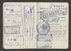 República Portuguesa - passaporte 1952 (© Portimagem) Tags: portugal patrimónionacional lisboa historia repúblicaportuguesa bilhetedeidentidade passaporte passport documentooficial identidade viajante