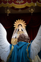 Intramuros Grand Marian Procession (Abin_temyong) Tags: gmp igmp intramuros mama mary immaculate concepcion conception manila marian procession macarena reina