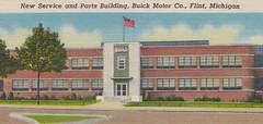 SE Flint MI GM BUICK MOTOR COMPANY AXEL PLANT AND NEW SERVICE AND PARTS OPERATIONS Back in the AC SPARK PLUG and FISHER BODY DIVISION DAYS TOO1 (UpNorth Memories - Donald (Don) Harrison) Tags: christmas santa jesus vintage antique postcard rppc don harrison upnorth memories upnorth memories upnorthmemories michigan history heritage travel tourism michigan roadside restaurants cafes motels hotels tourist stops travel trailer parks campgrounds cottages cabins roadside entertainment natural wonders attractions usa puremichigan  railroad ferry car excursion