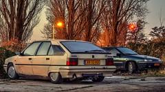 BX 19 TRI / Xantia 2.0i SX (Skylark92) Tags: nederland netherlands holland amsterdam oost zeeburgereiland citroën car vehicle hydropneumatic bx 19tri xantia 20i 8v sx automatic hdr vert vega blanc cremant