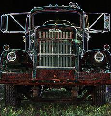 Glowing White (racerx6948) Tags: trucks truck semitruck white pentax rusty