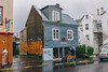 Reykjavík, Iceland view420 (lumierefl) Tags: reykjavik capitalregion iceland scandanavia europe is architecture building residential house home frame graffiti rain umbrella 1890s 20thcentury