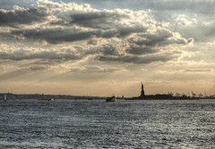 Statue of Liberty, New York (neilalderney123) Tags: 2016neilhoward newyork nyc landscape statue liberty usa cloud
