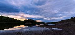 Low Water Sunset (NaturaRAW) Tags: 2016 500px canonef1635f4lisusm canoneos6d ellen facebook flickr fotosidan frgelanda google instagram landskap natur sj skog vatten youpic stersjn