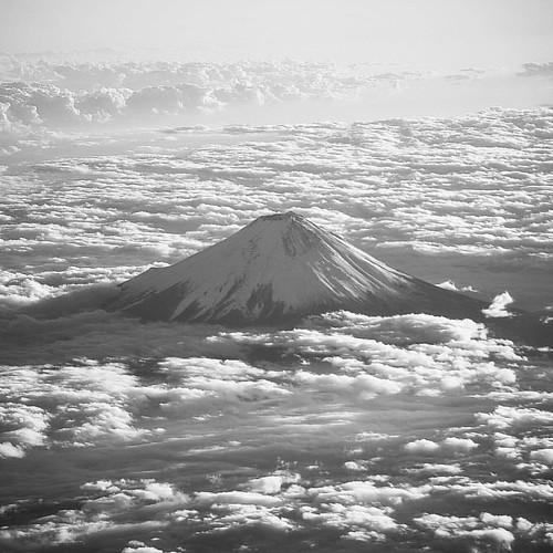 ja ne, Fuji! / NRT→ULN #mountfuji #miatairlines #upintheair