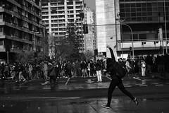 Santiago de Chile (Alejandro Bonilla) Tags: santiago chile street city ciudad calle bw blancoynegro bn blackandwhite minolta monocromatico monocromo