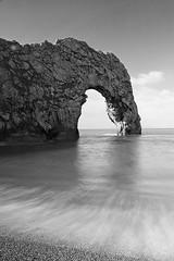 Durdle Door, Dorset. (andrewswinbank) Tags: seascape canon seastack arch rock jurassiccoast durdledoor dorset landscape