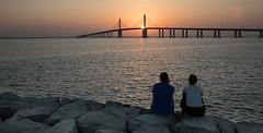 Al-Bateen Bridge - Abu Dhabi (Robert Haandrikman) Tags: abu dhabi al bateen bridge uae sunset romantic