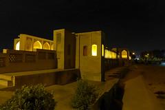 iran_016 (muddycyclist) Tags: panasonic lumix lx7 iran isfahan esfahan bridge night