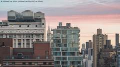 New York Sunrise (DSC05074) (Michael.Lee.Pics.NYC) Tags: newyork sunrise morning chryslerbuilding cityscape architecture sony a7rm2 fe70300mmg