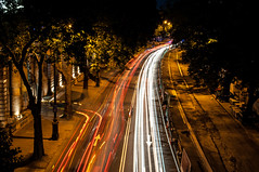 London July 2015 _110.jpg (MesherPhotos) Tags: lights victoriaembankment lighttrails longexposure waterloo london street bustlingcity busycity bridge cars cityscape citybynight headlights blur city