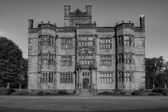 GAWTHORPE HALL, PADIHAM, LANCASHIRE, ENGLAND. (ZACERIN) Tags: gawthorpe hall padiham lancashire england zacerin christopher paul photography pictures of gawthorpe history shuttleworth family hall in padiham national portrait gallery outdoor sunny daytime gawthorpe halls textile collection