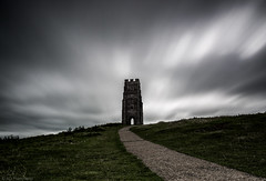 Portal? (Anthony Plancherel) Tags: architecture england external glastonbury glastonburytor places somerset travel travelphotography landscape landscapephotography landmark cloud clouds cloudysky sky cloudblur light lightandshadow shadow hill tor grass grassy path pathway footpath tower church ruin ruins stmichaels english britain greatbritain british uk unitedkingdom canon canon70d longexposure architecturephotography stone buttress arch gateway portal doorway outdoor isleofglass avalon mystical mythical myth legend canon1585mm wow