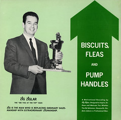 Biscuits, Fleas And Pump Handles (Jim Ed Blanchard) Tags: lp album record vintage cover sleeve jacket vinyl weird funny strange kooky ugly thrift store novelty kitsch awkward private pressing zig ziglar biscuits fleas pump handles motivational salesman arrow square