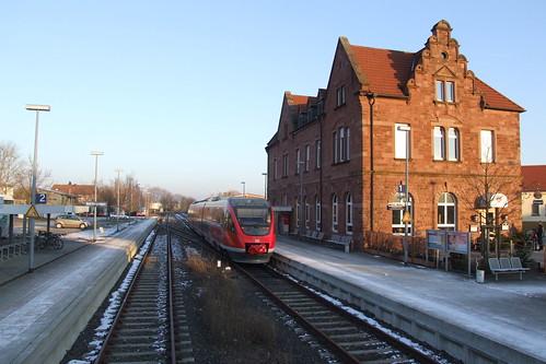 Bad Bergzabern railway station, 12.02.2012.