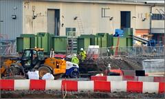 Mersey Gateway Project (Rubrica Bridges No2 Wing Traveller under construction) Runcorn 5th December 2016 (Cassini2008) Tags: merseygatewayproject rubricabridgeswingtraveller bridgeconstruction runcorn