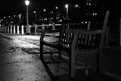 Dover, Marine Parade (Jean Latteur) Tags: nikon d3300 nikkor 35mm f18 bench seafront dover kent england night
