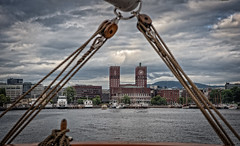 Oslo. Cold colours of Norway. (Al Sanin) Tags: norway norge oslo capitaloftheworld ©alsanin