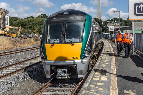 THE MINISTER PLUS PLATFORM 10 AND THE PHOENIX PARK RAILWAY TUNNEL [NOT FORGETTING IRISH RAIL STAFF] REF-107104