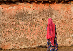 REMINISCENCE OF THE PAST (GOPAN G. NAIR [ GOPS Photography ]) Tags: old india history wall photography graffiti paint vandalism past gops gopan gopsorg gopangnair gopsphotography