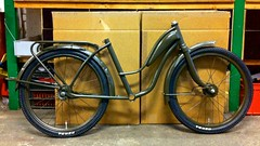 "P1 20"" Army Bike - S (@WorkCycles) Tags: amsterdam army bicycle bike custom drab dutch fietsje gojoe jongen kid kids kind maatwerk military olive workcycles"