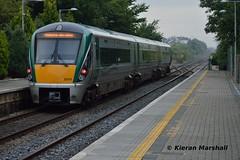 22053 passes Portlaoise, 14/9/15 (hurricanemk1c) Tags: irish train rail railway trains railways irishrail rok rotem portlaoise 2015 icr iarnród 22000 22053 éireann iarnródéireann 3pce 0615corkheuston corkexpress