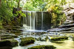 Waterfall (Maisiebeth) Tags: longexposure water waterfall berwyn silky wrexham northwales kingsmill nantmill