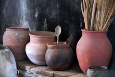Spoon (nedlugr) Tags: california ca stilllife museum spoon mission claypots earthenware forthunterliggett jolon omot missionsanantoniodepadua missionlife