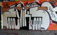 Graffiti Overschie (oerendhard1) Tags: urban streetart art graffiti rotterdam overschie ons putas tunneltje eviks