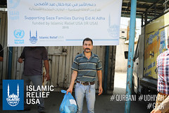 Gaza Qurbani Distribution 2015