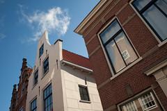 Facades @ Haarlem (PaulHoo) Tags: city windows sky urban house holland reflection building haarlem netherlands architecture facade nikon lightroom 2015 d700