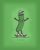 Coolcumber (randyotter) Tags: food silly color art fruit illustration children design cool funny awesome vegetable artsy buy colourful threadless clever whimsical puns randyotter