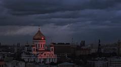 Последний луч солнца. Москва (varfolomeev) Tags: church russia 2015 россия церковь nikonp340