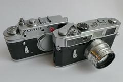 fresh from Japan / Canon 7 Rangefinder 1961-1965 (rainer.marx) Tags: zorki leica film analog 35mm lumix rangefinder panasonic jupiter jupiter8 canon7 zorki4k m39 kleinbild messsucher fz1000