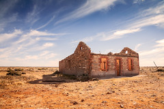 Renovator's delight (RWYoung Images) Tags: house abandoned rock stone canon landscape sand desert australia 5d outback rwyoung