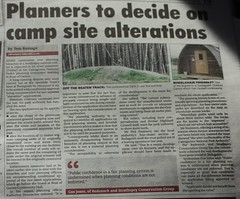 Report in Strathspey & Badenoch Herald (BSCG (Badenoch and Strathspey Conservation Group)) Tags: cp cnp strathy badgm