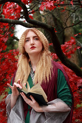 Reading or maybe not (PARMAR2009) Tags: autumn red woman lake colour green english ford gabriel water beautiful leaves lady canon john garden costume movement dante william lizzie blond 7d blonde romantic madox brotherhood society graceful painters everett hunt millais bold waterhouse ophelia preraphaelite rossetti holman browm influence romanticism siddall viberant preraphaelitism