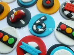 12 Grand Prix Racing Car Cupcake Toppers by The Cake Top Company (thecaketopcompany) Tags: uk cupcakes racing edible fondant esty caketoppers cupcaketoppers thecaketopcompany grandprixcupcaketoppers cartoppers gokartingcupcaketoppers