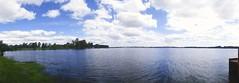 Arroyo Grande - Uruguay (vanesastephani) Tags: blue trees sky panorama naturaleza green water clouds uruguay skies view cloudy sunny moment arroyogrande andresito uruguaynatural