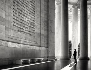 Reading History- The Jefferson Memorial, Washington DC